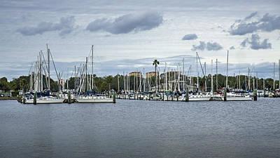 Photograph - St. Petersburg Pier  by Steve Gravano