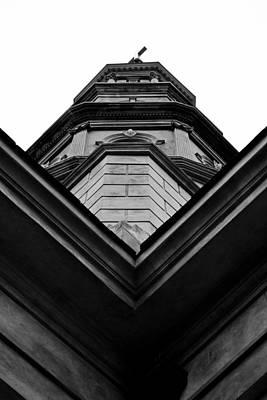 Philip Photograph - St. Philips Chruch Steeple by Dustin K Ryan