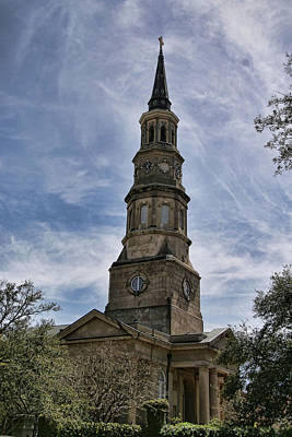 Photograph - St. Philip's  by Gazie Nagle