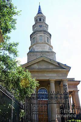 St. Phillips Episcopal Church, Charleston, South Carolina Art Print