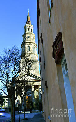 Photograph - St. Phillips In Charleston by Skip Willits