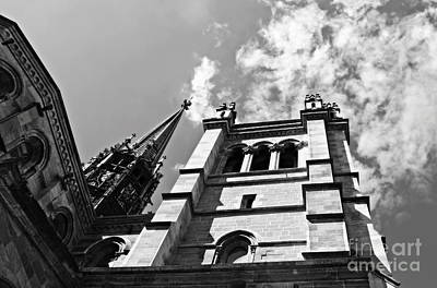 Photograph - St Pierre Cathedral Of Geneva by Cendrine Marrouat