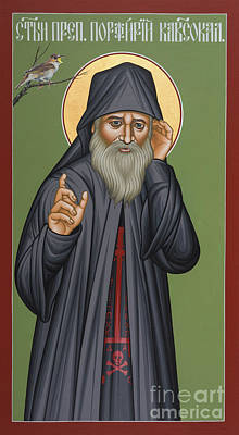 St. Porphyrios Of Kavsokalyvia - Rlpok Art Print