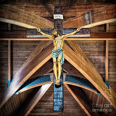 Photograph - St. Rita Catholic Church by Walt Foegelle