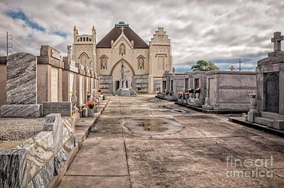 Photograph - St Roch Cemetery Nola by Kathleen K Parker