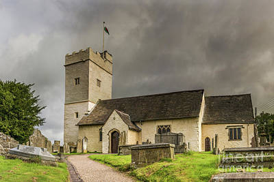 Photograph - St Sannans Church At Bedwellty by Steve Purnell