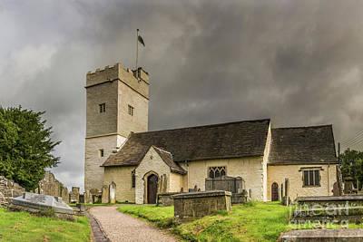 Photograph - St Sannans Church At Bedwellty by Steve Purnell