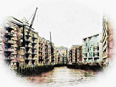 Photograph - St Saviours Dock Bermondsey by Dorothy Berry-Lound