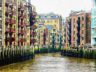 Photograph - St Saviours Dock London by Dorothy Berry-Lound