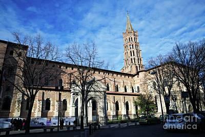 Photograph - St Sernin Basilica by Cendrine Marrouat