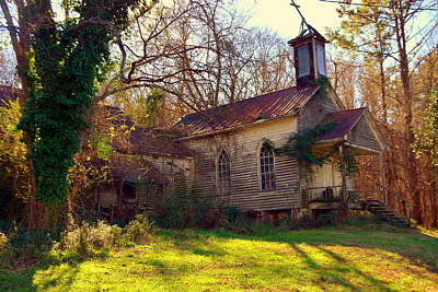 Photograph - St Simon Church Peak Sc by Lisa Wooten