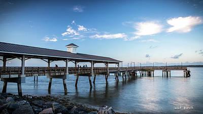Photograph - St. Simons Pier by Walt Baker
