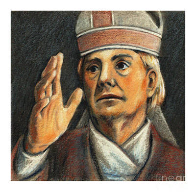 Painting - St. Stanislaus Of Krakow - Jlstk by Julie Lonneman