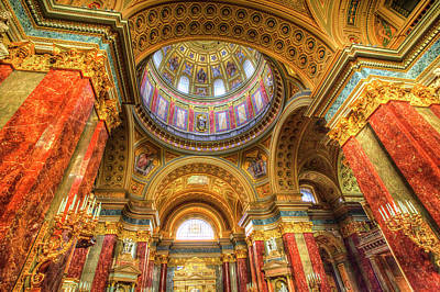 Photograph - St Stephen's Basilica Budapest by David Pyatt