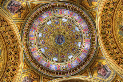 Photograph - St Stephens Basilica Budapest Hungary by David Pyatt