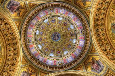Photograph - St Stephens Basilica Budapest Hungary by David Pyatt