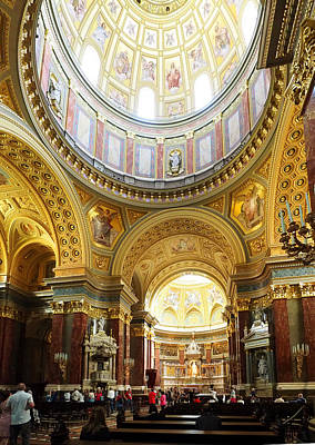 Photograph - St Stephens Basilica by C H Apperson