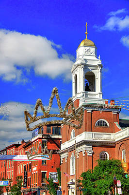 Photograph - St. Stephen's Church - Boston North End by Joann Vitali