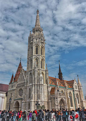 Photograph - St. Stephens In Budapest by Laura Macky