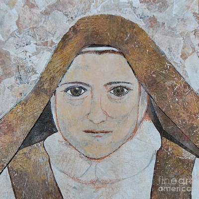 Carol Cole Painting - St. Therese Of Lisieux by Carol Cole