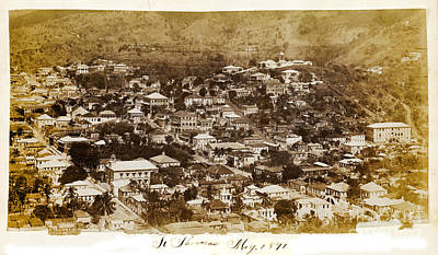 St Thomas Photograph - St Thomas 1891 by Jon Neidert
