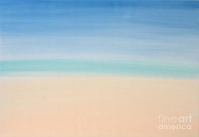 Painting - St Thomas #2 Seascape Landscape Original Fine Art Acrylic On Canvas by Tim Hovde