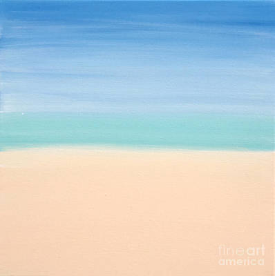 Painting - St Thomas #4 Seascape Landscape Original Fine Art Acrylic On Canvas by Tim Hovde