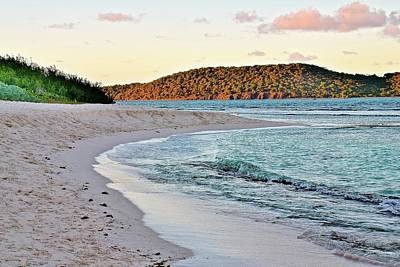 Photograph - St Thomas Beach Sunset by Frozen in Time Fine Art Photography