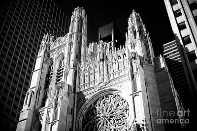 Photograph - St. Thomas Church 5th Avenue by John Rizzuto