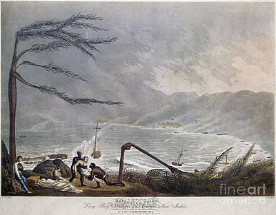 Photograph - St. Thomas: Hurricane, 1819 by Granger