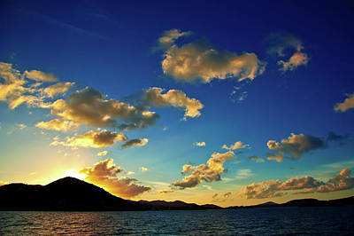 Photograph - St. Thomas Sunset  by Harry Spitz