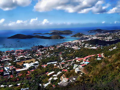 Photograph - St. Thomas - Us Virgin Islands by Anthony Dezenzio