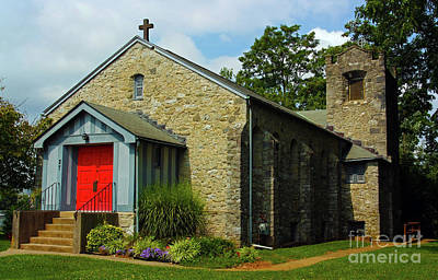 St. Timothy Photograph - St. Timothy's Episcopal Church by Patti Whitten