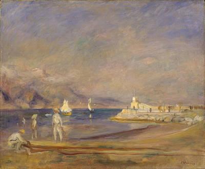 St.tropez Painting - St. Tropez 1902 - 1902 by Pierre Auguste Renoir