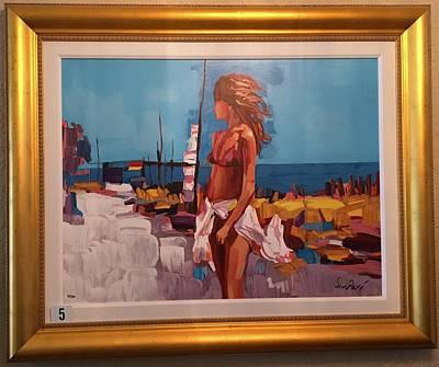Number 34 Mixed Media - St. Tropez 34/50 by Nicola Simbari