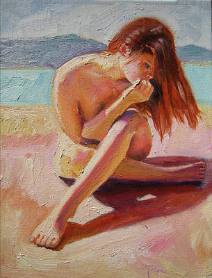 St.tropez Painting - St. Tropez Beauty by Pixie Glore