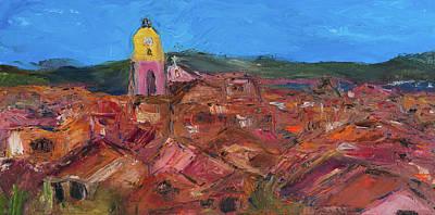 St. Tropez Art Print by Dan Castle