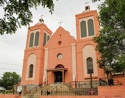Photograph - St Vincent De Paul Catholic Church by Allen Sheffield