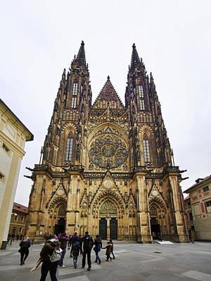 Photograph - St Vitus Kathedraal. Prague Castle. Prague Spring 2017 by Jouko Lehto