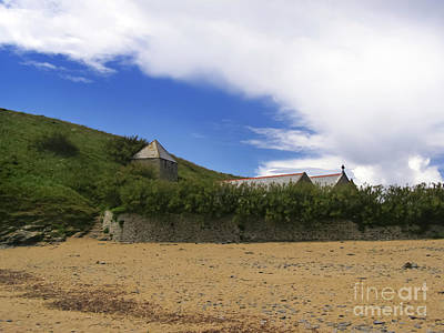 Photograph - St Wynwallow, Church Cove by Terri Waters