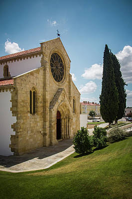 Photograph - Sta Maria Do Olival Church by Carlos Caetano