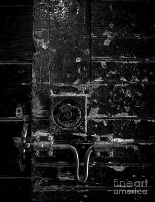 Photograph - Stable Door Latch by James Aiken