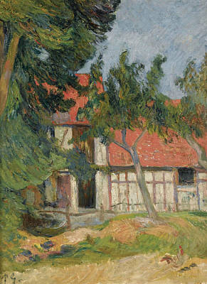 Painting - Stable Near Dieppe I by Paul Gauguin