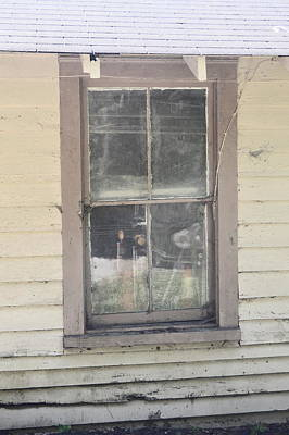 Photograph - Stable Window by Judith Morris