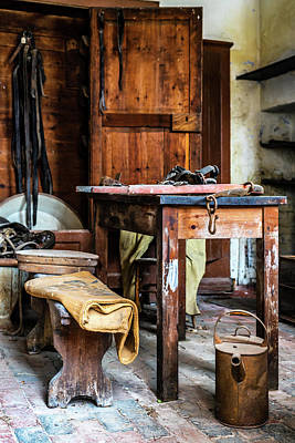 Photograph - Stables Workshop by Nick Bywater