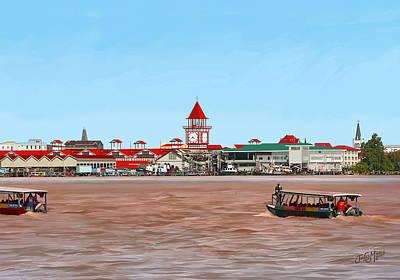 Stabroek Market-riverside Original