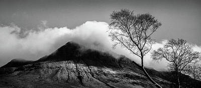 Photograph - Stac Pollaidh Clouds by Dave Bowman