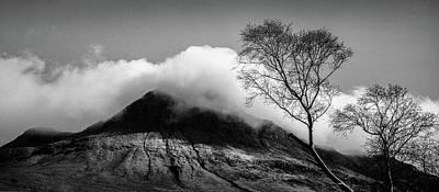 Photograph - Stac Pollaidh Clouds by Dave Bowman