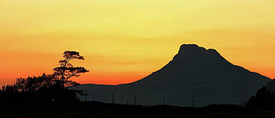 Photograph - Stac Polly Sunset by Grant Glendinning