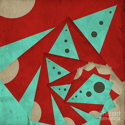 Digital Art - Staccato - A01c2 by Variance Collections
